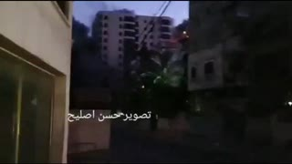 BREAKING: Israel just bombed an entire Palestinian apartment block into the ground!