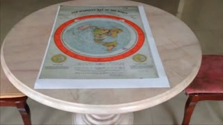 Gleason's Flat Earth Map In 1892 Was Made To Replace The Globe (Mr E)
