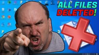 DELETING a scammers PERSONAL COMPUTER files!