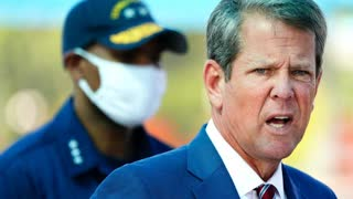 Many in Georgia speculate KEMP dropped a BOMBSHELL in his pants when ARRESTED for TRAITOR to CHINA!