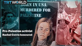 Pro-Palestine activist Rachel Corrie awarded 'Freedom Star' posthumously.Top comment on youtube ''This girl who isn't even Palestinian herself has honestly done more for Palestine than any other Muslim outside of Palestine. She is a global hero and inspiration''