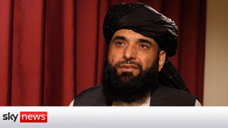 In Full: Taliban spokesperson on the future of Afghanistan. The people fleeing Afghanistan are economic  immigrants.Time stamp 1:21