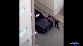 Just A Couple Of Bad Police Officers Planting Bricks