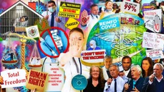 Alcyon Pleiades 104: Vaccine refusal/deaths/effects, Global resistance, Agenda 21, Growing protests