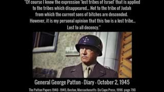 We get a look into the death of General Patton and the Jewish sniper who admitted shooting him.