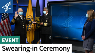 Swearing-in of Dr. Rachel Levine to the U.S. Public Health Service Commissioned Corps