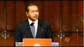 Malaysian Prime Minister Dr. Mahathir bin Mohamad 2003 on the jews.mp4