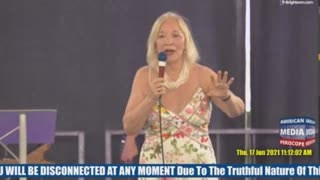 Dr. Christiane Northrup in Tampa about vaccinations - Health & Freedom Conference, Tampa, June 17th