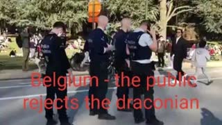 In Belgium, the public rejects the draconian confinement measures, social distancing and muzzle