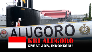 Super! With KRI Alugoro, Indonesia Is The First Country In Southeast Asia To Assemble Submarines