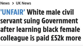 Alex Belfield : White Man Paid £52,000 Less Than Black Woman For SAME JOB Sues Bosses