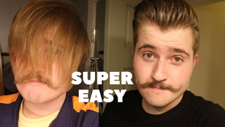 How to Cut Your Own Hair- SUPER EASY Men's Self-Haircut