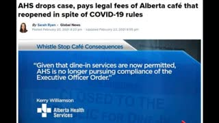 AHS Drops Case and Pays Legal Fees Against Defiant Cafe Owner