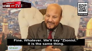 """Jordanian Prof.: Jews Rule the World; We Have to Say """"Zionists"""" Instead of """"Jews"""" Or They Cancel Us"""