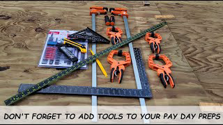 TOOLS NEED TO BE ON YOUR LIST OF PREPS TO HAVE