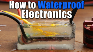 How to Waterproof Electronics    Nail Polish, Silicone, Potting Compound