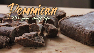 How to make Low Tech Pemmican - Survival food that lasts over 25 years