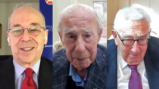 The Future of the U.S. and China Conference: A Conversation With George Shultz and Henry Kissinger (They Live Gear)