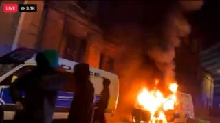 Bristol UK: Anarchists & Antifa Riot In Supposed Opposition To 'The Bill' Restricting Demonstrations. Masks, COVID and hate speech laws, yes. Antifa, no.