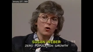 """(((Susan Weber Soros))) Zero Population Growth: """"We don't care how it's done"""""""