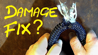 Bypass a Damaged Section of Rope - Fix a Damaged Section of Rope