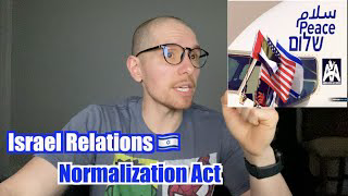 Israel Relations Normalization Act: Two State Solution, Abraham Accords