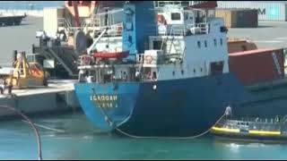 Italian port workers refuse to load shipment of arms headed for Israel