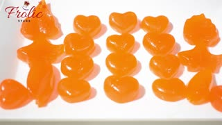 Orange Candy   Candy without preservative   Homemade orange juice candy   How to make candy at home