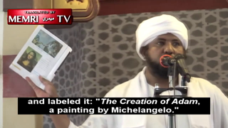 Sudanese Imam Has Meltdown over Inclusion of Michelangelo's The Creation of Adam in History Textbook