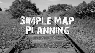 Simple Evacuation Planning With Maps