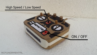 How to Make Remote Control | wired remote control | high speed and low speed