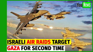Always Dishonor Jewish Deals - Israeli air raids target Gaza for second time since ceasefire.