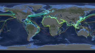 Animated Maps: Submarine Cables