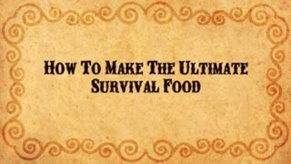 The Ultimate Survival Food: Pemmican