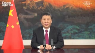 Special Address by Comrade Xinnie the Pooh CCP Chief Shabbos of Judaized China | DAVOS AGENDA 2021