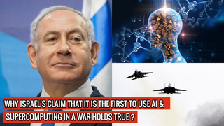Israel Defense Forces (IDF) have claimed the world's first use of AI & supercomputing in war !