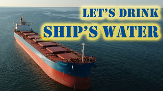 Is Ship's Water Safer than Bottled Water?   Study Call Ep 05 Chief MAKOi