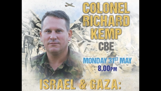 """(They Live Gear) COLONEL RICHARD KEMP: """"ISRAEL & GAZA: (((International Law))) and Military Operation in Practice"""""""