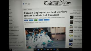 """Taiwan goes in lockstep with other nations response to the invisible enemy """"virus""""...copies the UK"""