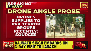 Jammu Blast updates: Drones Supplied To Pak Terror Group Recently, Agencies Looking Into Drone Angle