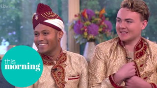 A Chance Encounter Led to the First Gay Muslim Wedding   This Morning