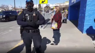 Anti Mask Shopping - Augusta, Maine Walmart - Trespass Tickets Failed - Cops Owned - Police