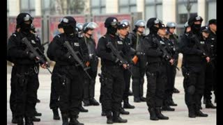 CCP man forced to take a test by police - welcome to your future in the West