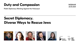 Secret Diplomacy  Diverse Ways to Rescue Jews | Duty and Compassion (They Live Gear)