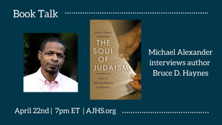 (They Live Gear) Book Talk: The Soul of Judaism- Jews of African Descent in America