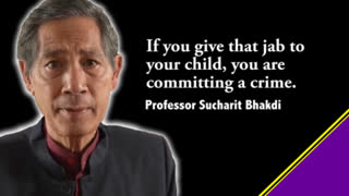 """""""If you give the jab to your child, you are committing a crime"""""""