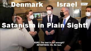 Prime Minister M. Frederiksen and Netanyahu aggree about the 'Green Pass' Slave System [06.03.2021]