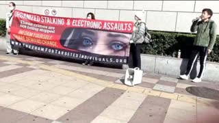 2.20.2021 . Targeted Individuals Protest Against Organized Stalking & Electronic Harassment Crime.
