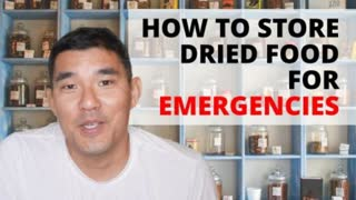 How to Store Dried Food for Long-Term Storage