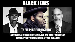 Black Jews: Their Place in History. A Conversation with Nissim Black and Henry Abramson (They Live Gear)
